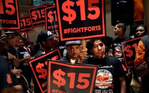 raise wage 15