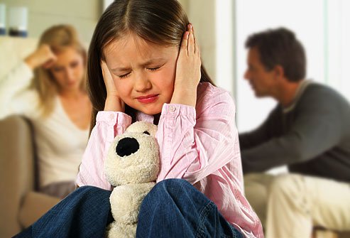 child stressed domestic violence